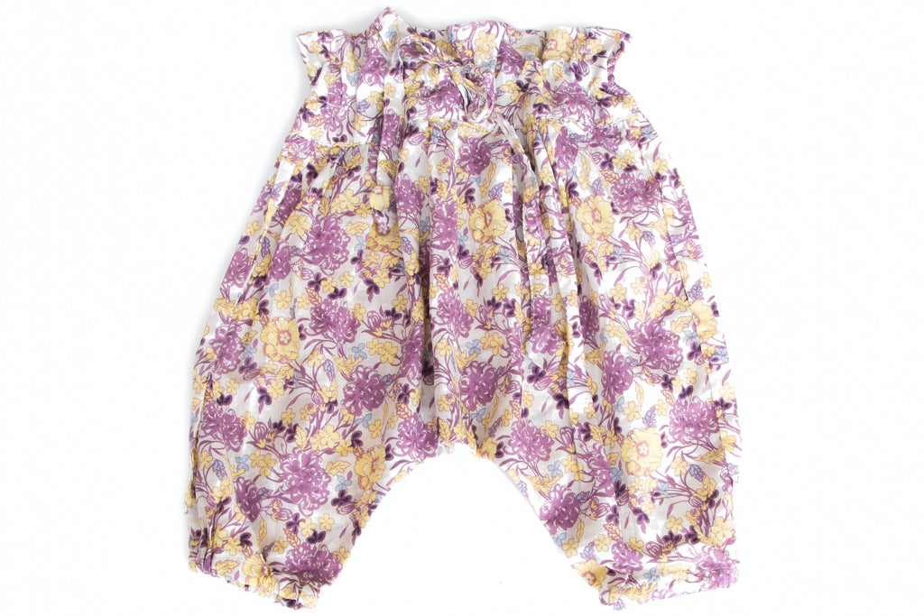 Harem Pants Lilac Flower