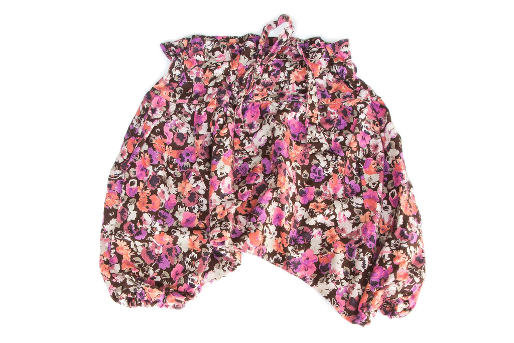 Cute Floral Harem Pants for Baby and Toddler Girls| Born By The Shore