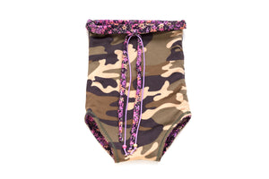 Reversible Bathing Suit Camouflage
