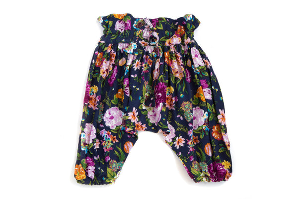 Harem Pants Night Flowers
