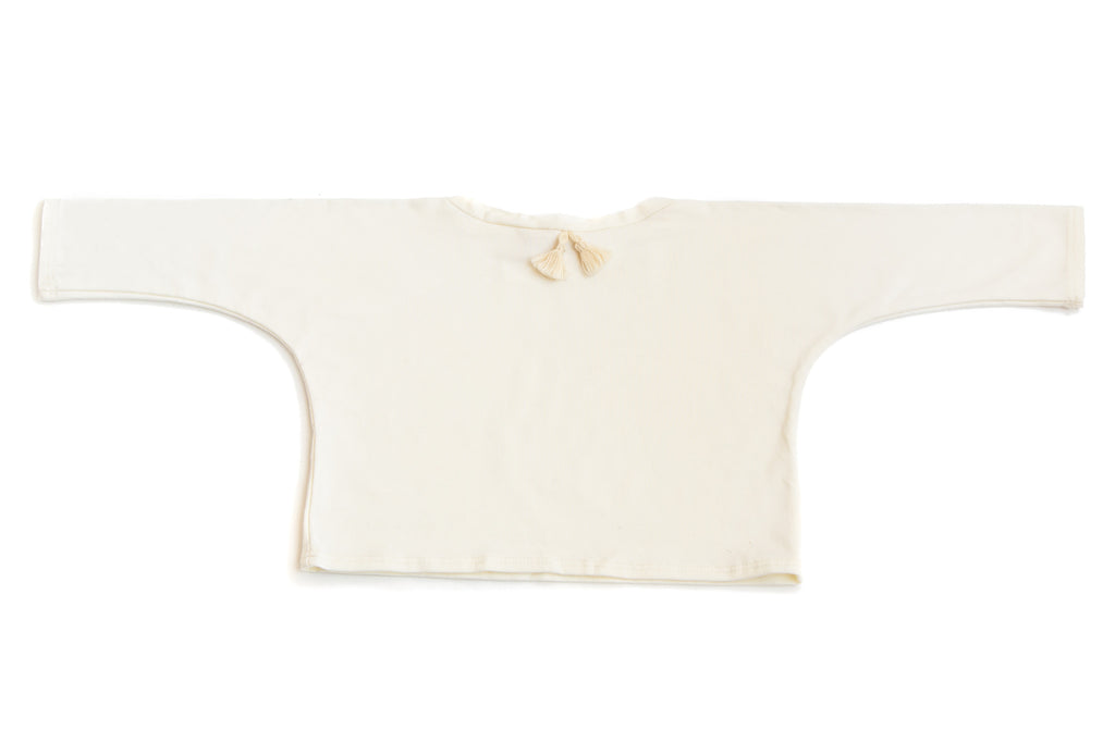 Tussle Shirt Long Sleeve Ivory