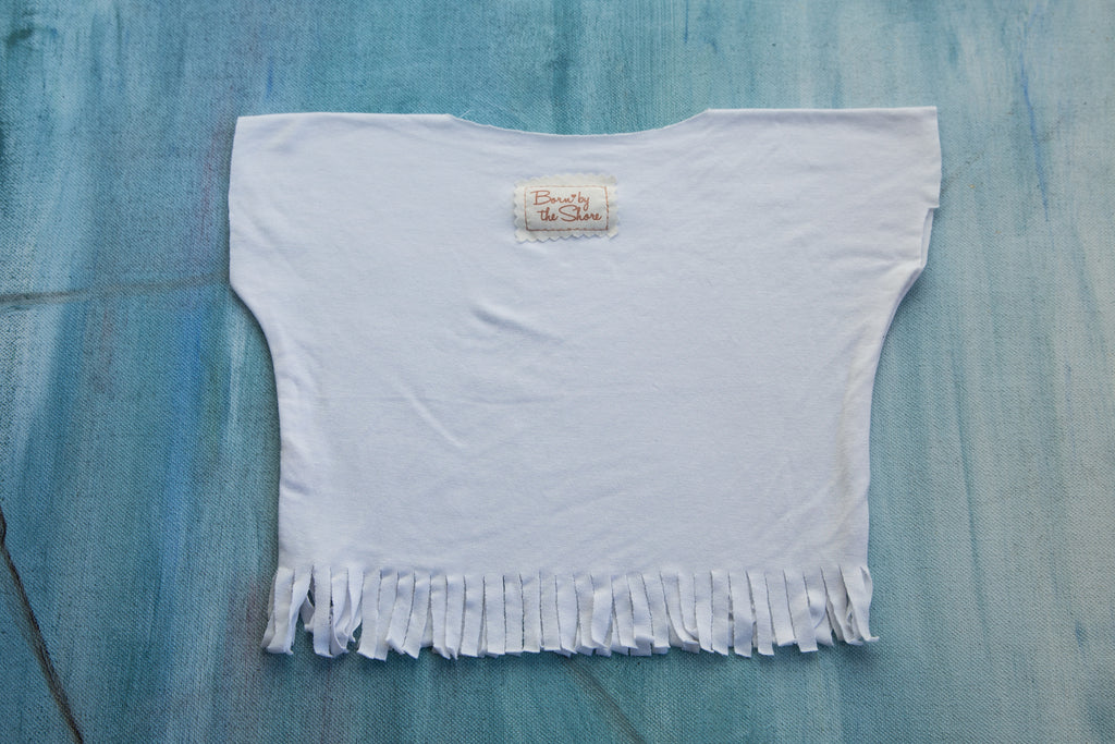 Fringe Shirt White
