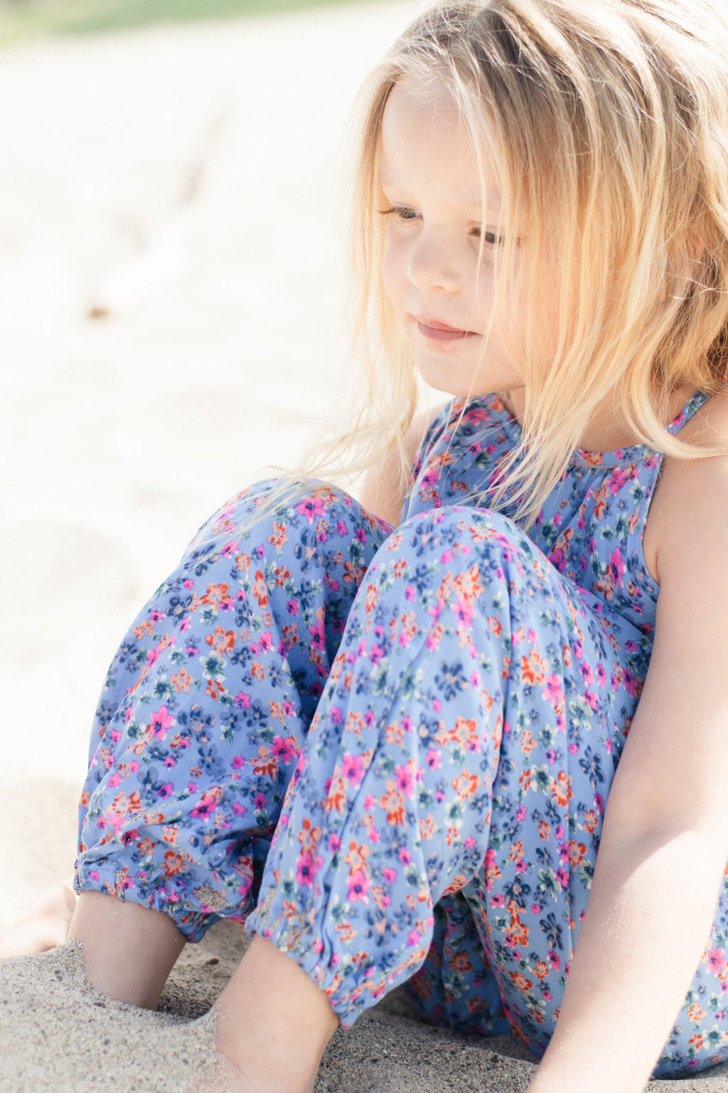 Baby & Toddler Girls Adorable Floral Pom Pom Jumper | Born By The Shore