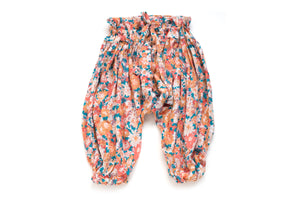 Orange Flowers Baby's & Girl's Harem Pants