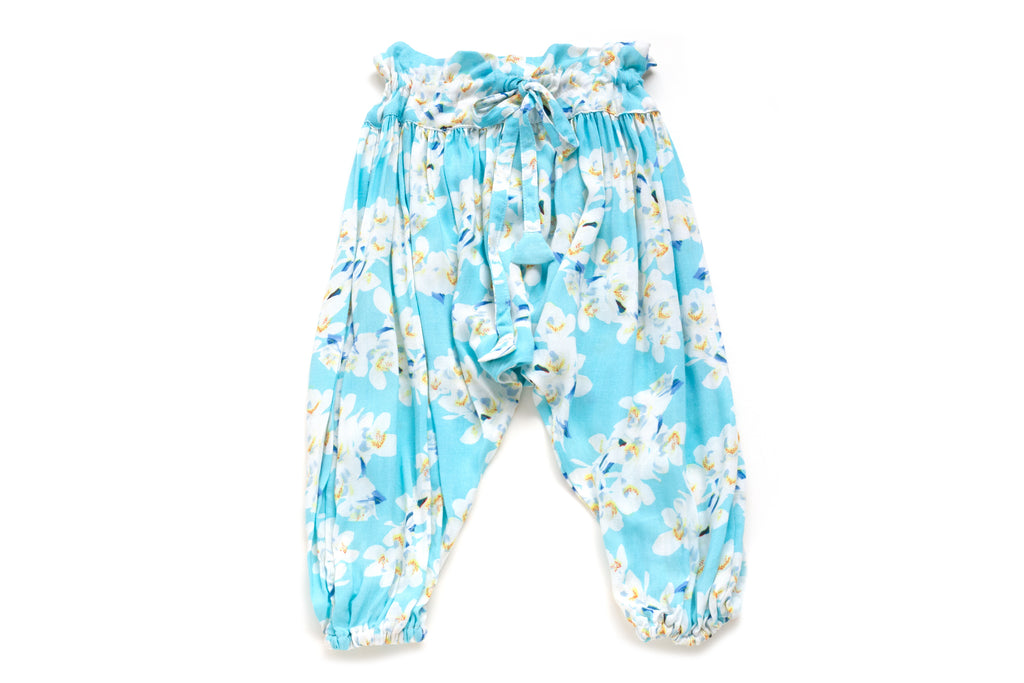 Harem Pants White Orchid