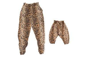 Mommy & Me Harem Pants Cheetah