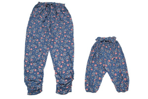 Mommy & Me Harem Pants Winter Blossom