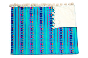 Pom Pom Beach Towel Allegria