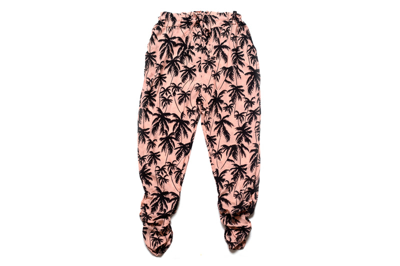 Mommy & Me Harem Pant Palm Tree