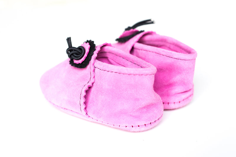 Soft Baby & Toddler Moccasin | Pink Panther
