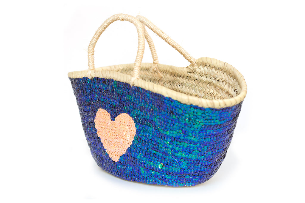 Basket Sequin Mermaid