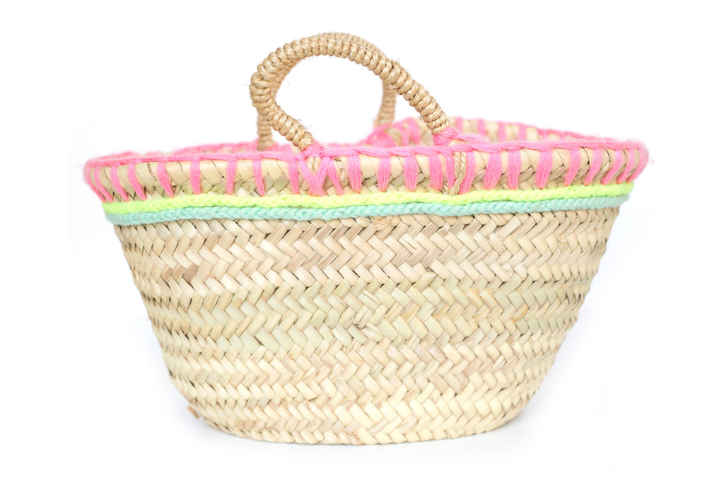 Basket Pink Thread