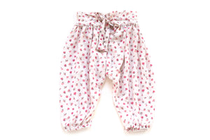 Cozy Floral Harem Pants for Baby & Toddler Girls | Born By The Shore