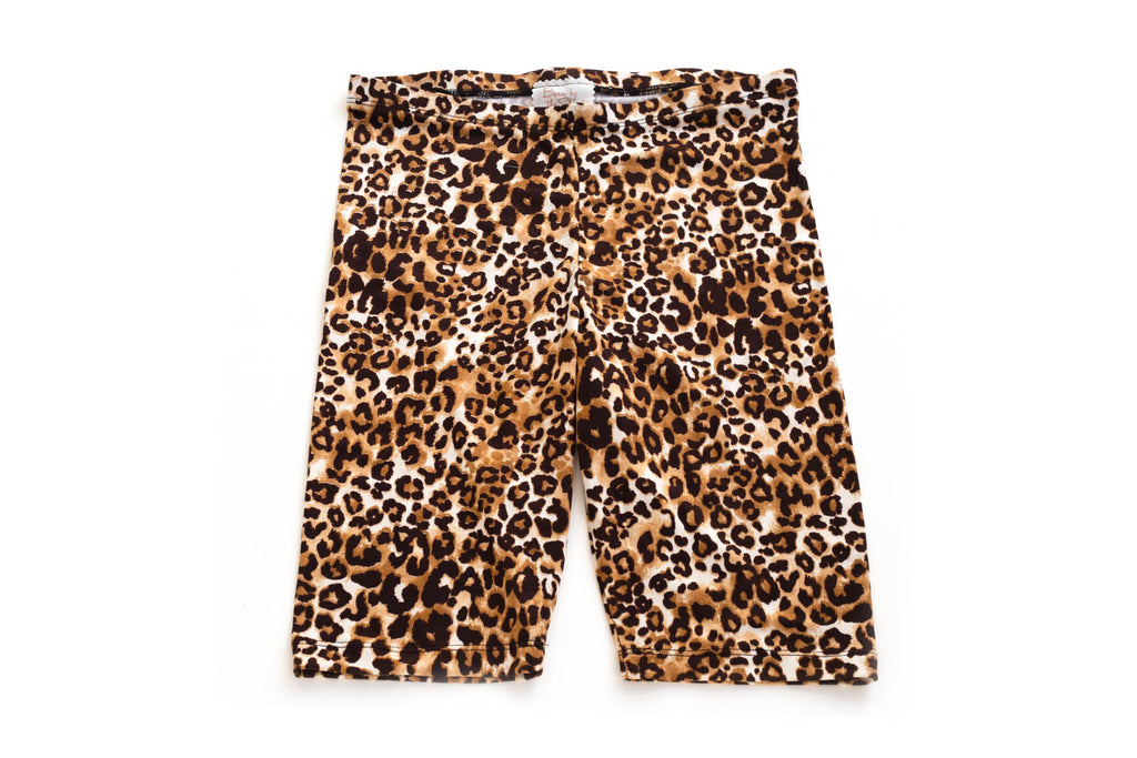 Mommy and Me Animal Print Biker Shorts for Women | Born By The Shore