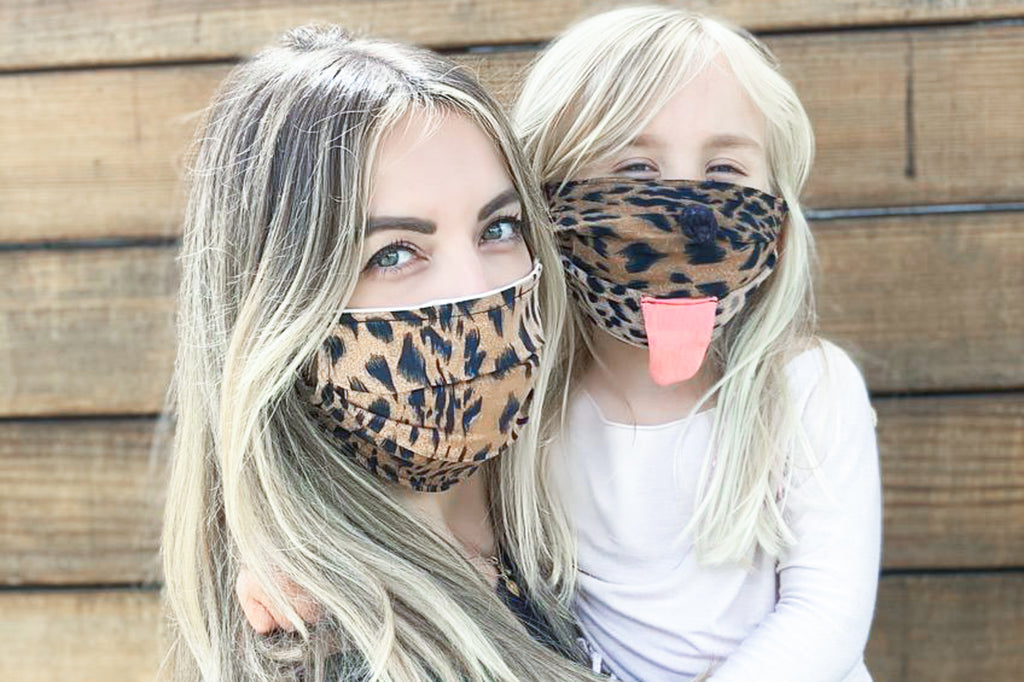Special Edition Kid's Face Mask Cheetah