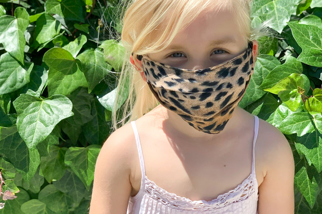 Kid's Face Mask Cheetah