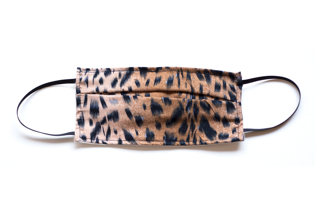 Women's Face Mask Cheetah