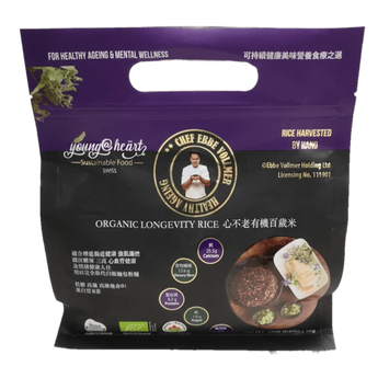 Young At Heart Organic Longevity Rice 心不老有機百歲米 1 kg