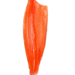 First Grade Sustainable Omega 3 Prime Salmon Fillet  頂級奧米加3三文魚刺身級魚柳 (2.2-2.3kg)