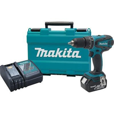 Makita XPH012 1/2-Inch 18V Lithium-Ion LXT Cordless Drill Driver Kit
