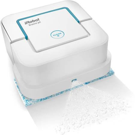 iRobot Braava jet 240 Wet/Dry Robotic Floor Cleaner - Bagless