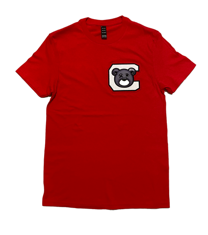 CHILL AVENUE Crewneck Red T-shirt