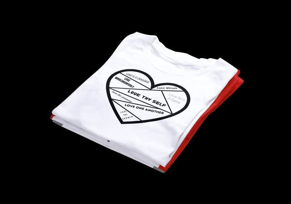The DIVERSITY OF LOVE T-shirt (white)