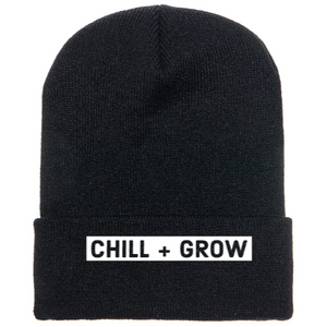 *Pre Sale Chill + Grow Beanie in Black