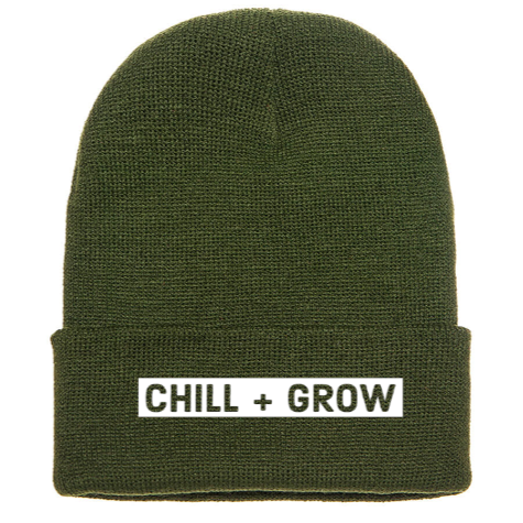 *Pre Sale Chill + Grow Beanie in Olive Green