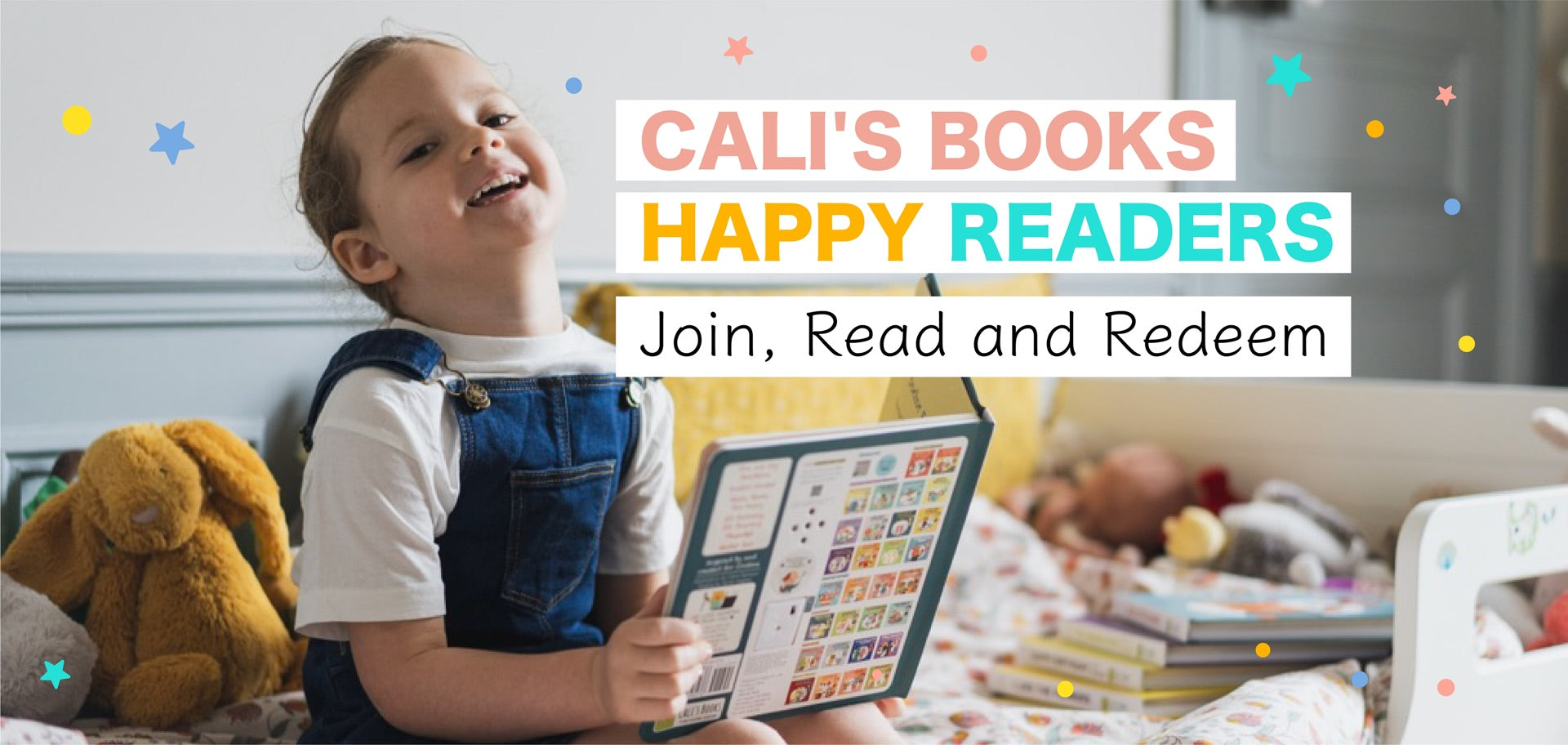 Cali's Books Happy Readers Rewards Program