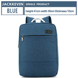 "JACKKEVIN Brand Cool Urban Backpack Men Unisex Light Slim Minimalist Fashion Backpack Women 14"" 15"" Laptop Backpack School Bag"