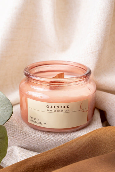 Oud & Oud Scented Candle