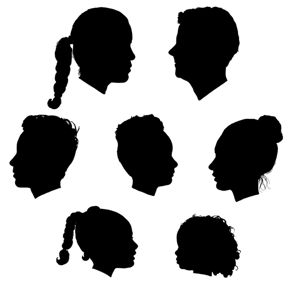 Our Family Silhouette