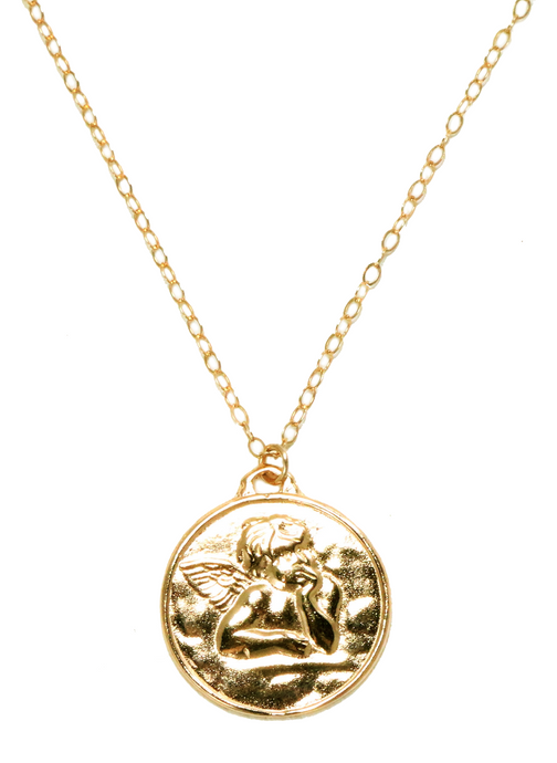 CUPID NECKLACE IN GOLD