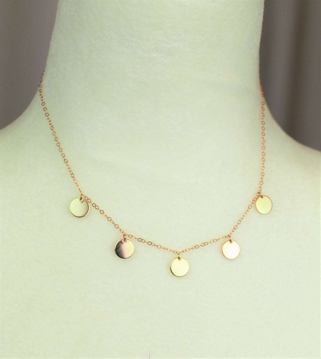 Rose & Gold Necklace