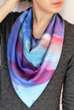 Belief - Satin Charmeuse Square Scarf