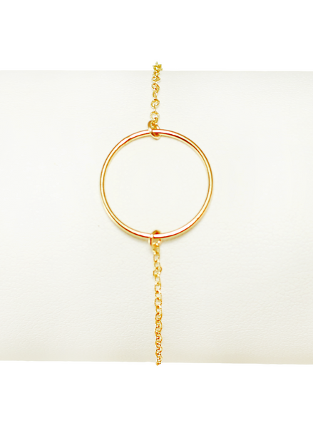 CIRCLET BRACELET IN GOLD | Maria Kamara: ethical gold jewelry, artisan gold jewelry, ethically sourced jewelry