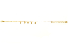 MINI DISC BRACELET IN GOLD