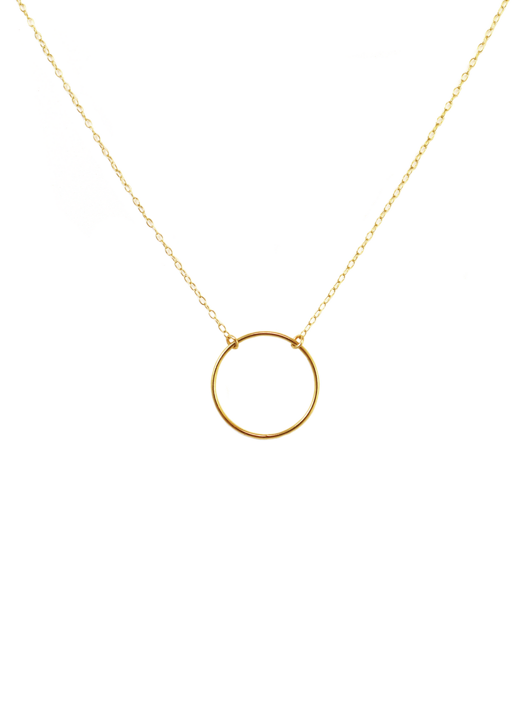CIRCLET NECKLACE IN GOLD