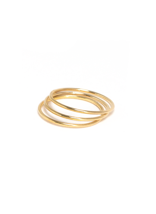 GOLD STACKING RINGS