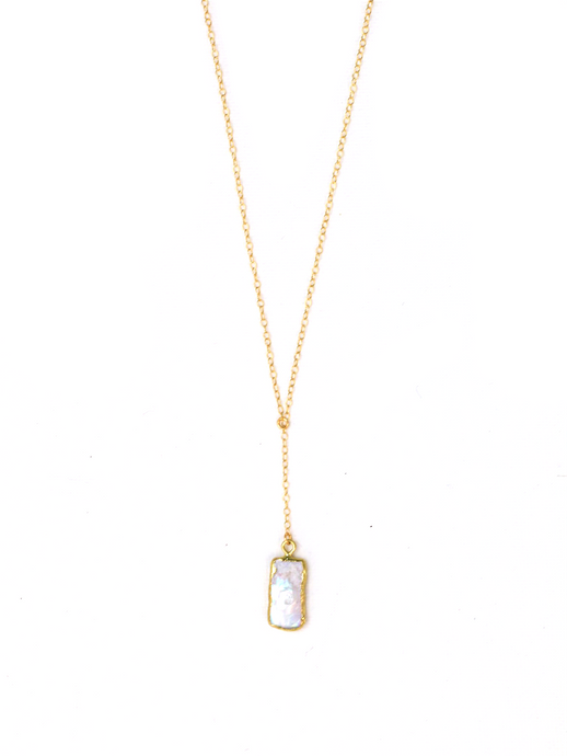 BIWA PEARL Y NECKLACE