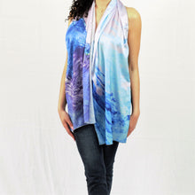 Jubilee - Satin Charmeuse Long Scarf
