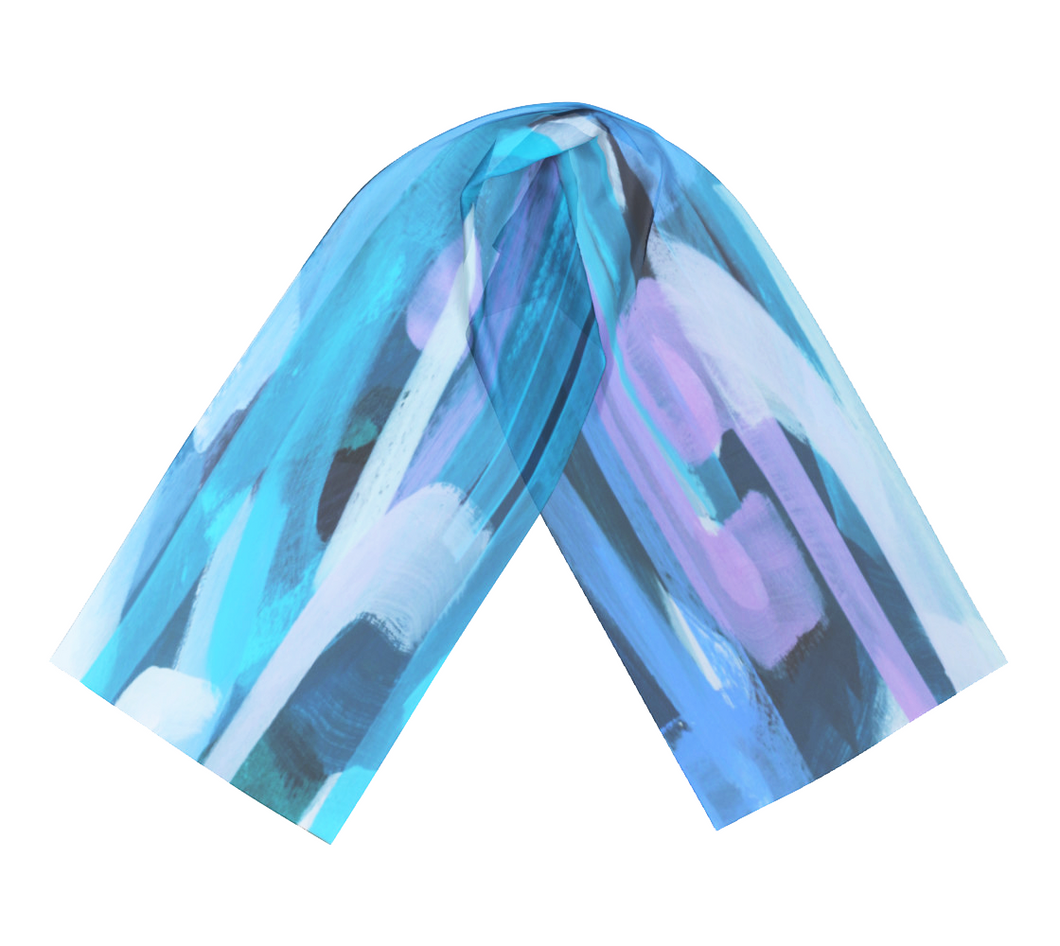 U-Turn - Satin Charmeuse Long Scarf