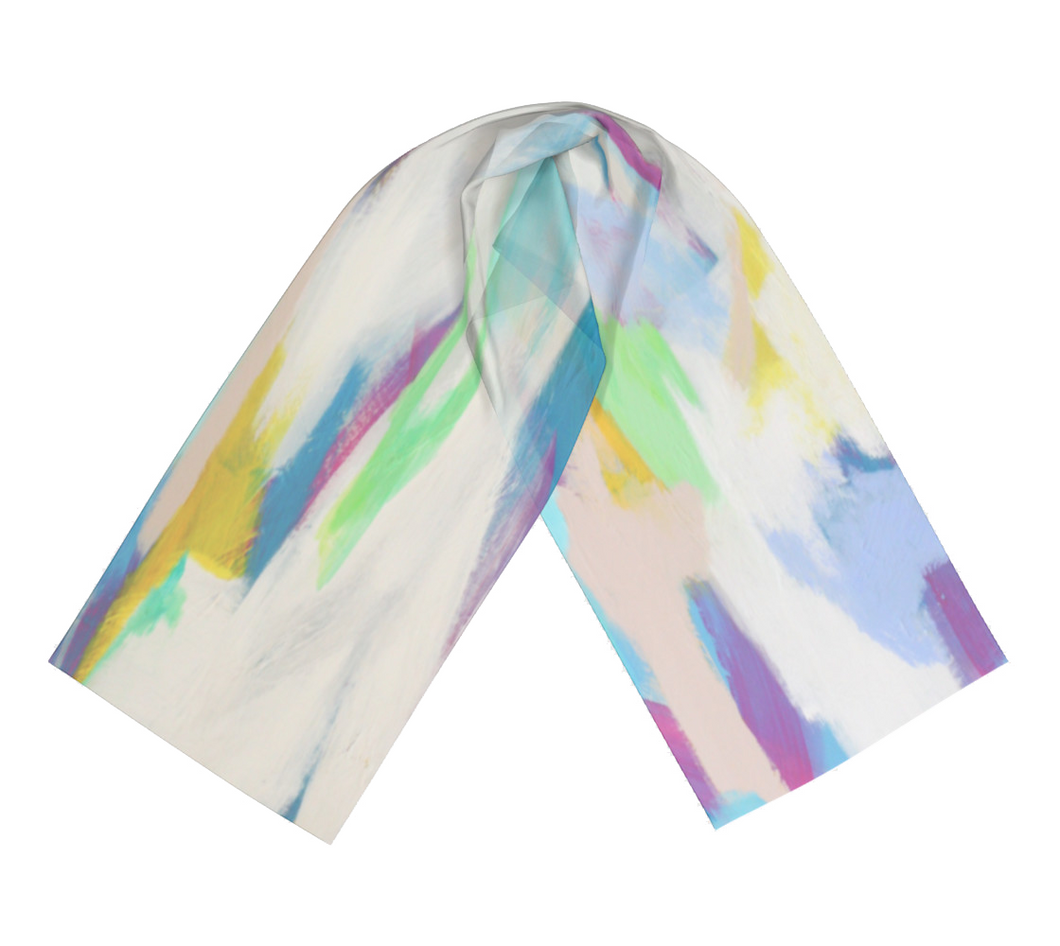 Within - Satin Charmeuse Long Scarf