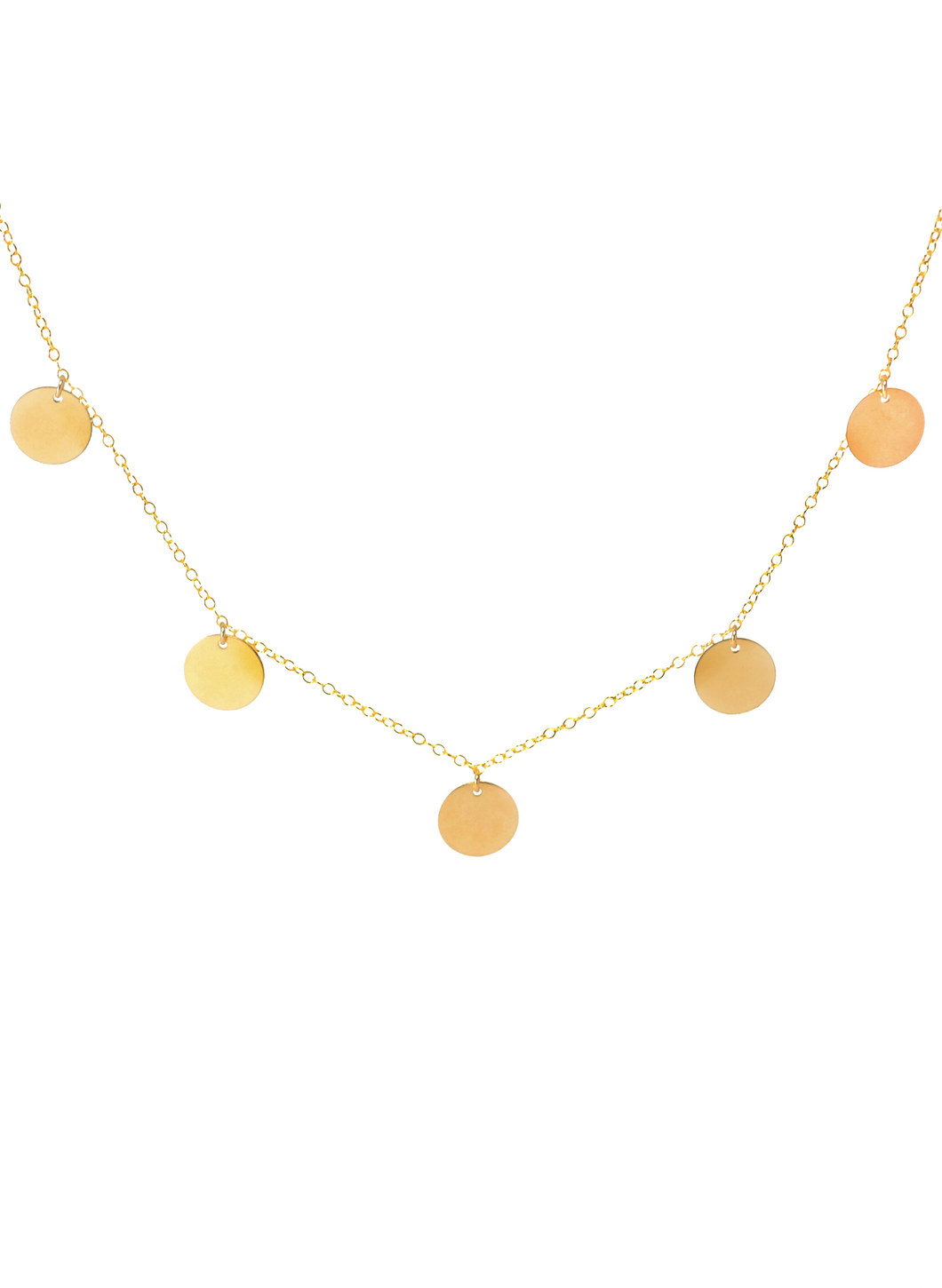BOHO NECKLACE IN GOLD