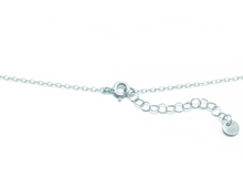 LENA DOUBLE LAYER NECKLACE IN SILVER