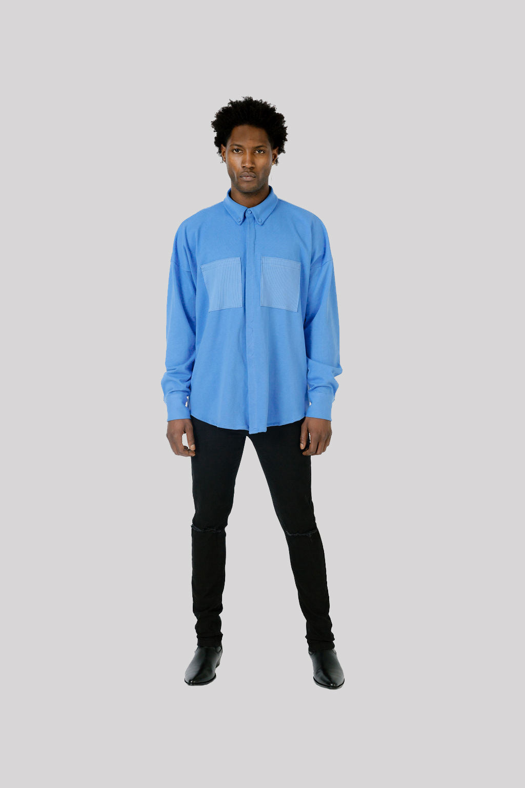 """Oversized Jones Button-Down"""