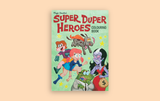 Super Duper Heroes Colouring Book Magic Sweater Tan Yang International