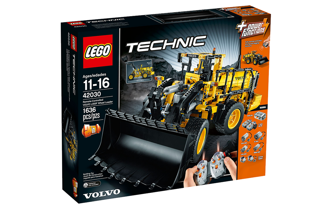 42030 Remote-Controlled VOLVO L350F Wheel Loader Tan Yang International LEGO