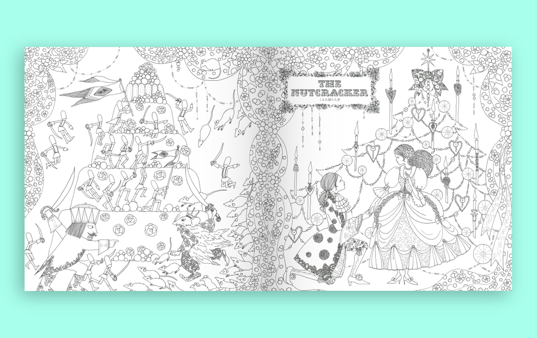 9784756245823 Fairy Tale Colouring Book Tan Yang International